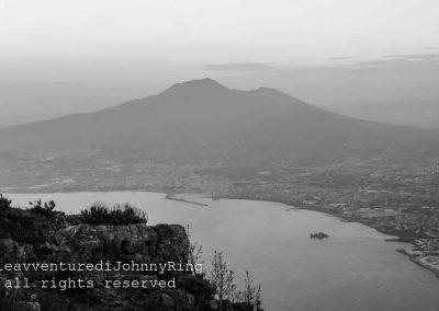 Il Vesuvio visto da Sud