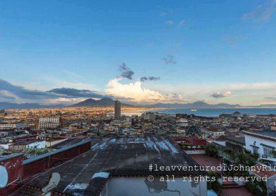 Il Vesuvio dal corso Vittorio Emanuele