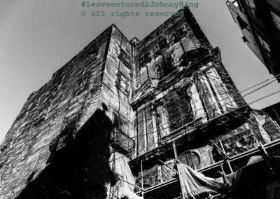 Palazzo 'velato' al centro storico