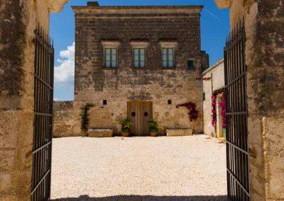 Masseria celano, ingresso principale
