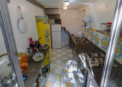 casa vacanza Capri, cucina
