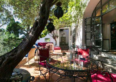 casa vacanza Capri, terrazzo