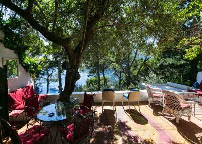 casa vacanza Capri, vista dal terrazzo