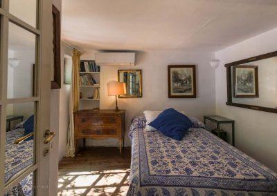 casa vacanze capri, camera da letto