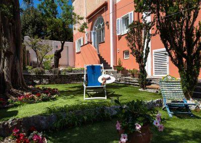 giardino Relais Bismarck a Capri