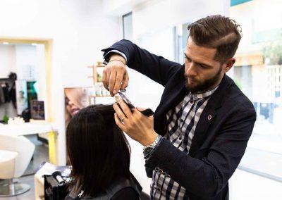 taglio dei capelli donna